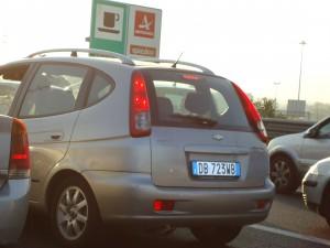 rome lic plate